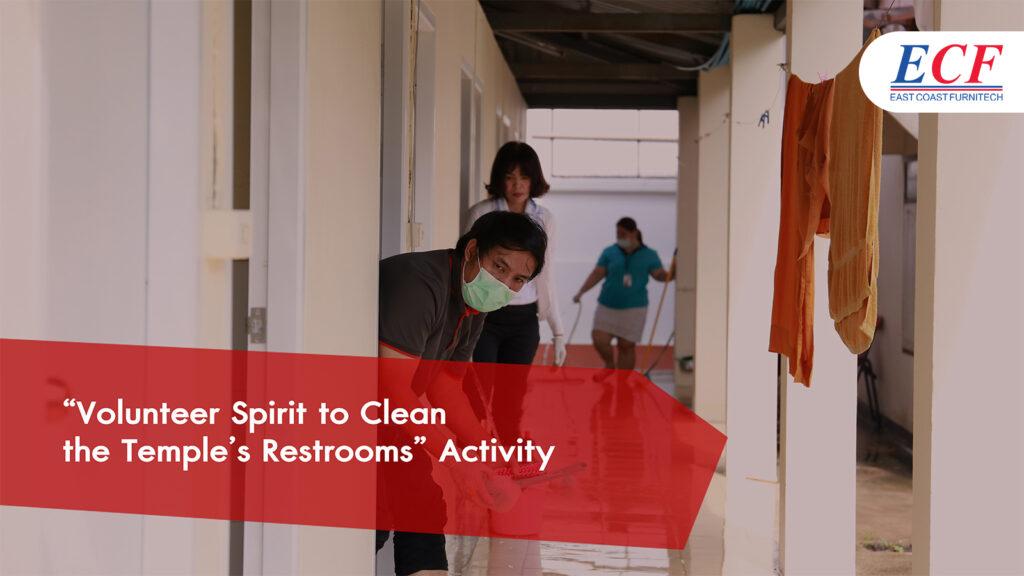 Volunteer Spirit to Clean the Temple's Restrooms